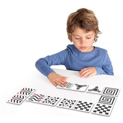 Grand domino tactile