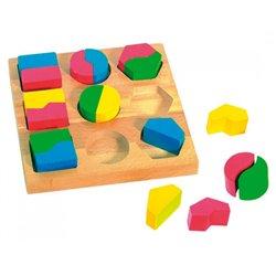 Encastrement logique : géobois symétrie