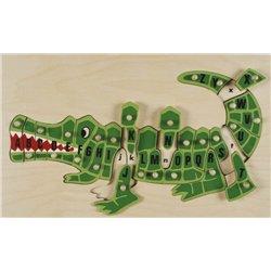 Puzzle croco alphabet