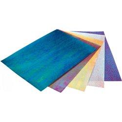 Paquet 10 feuilles papier irisé 23x33 cm 75g