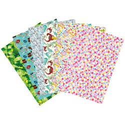 Pochette 30 feuilles décopatch collectivité enfants