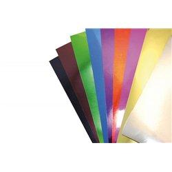 Paquet 10 feuilles carton miroir 255gr 35x50cm