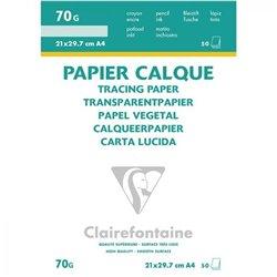 Feuille de papier calque 70 g (Bloc de 50)