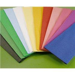 Papier crépon assortiment 10 feuilles 2 m x 0.50 m