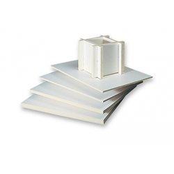 Feuille carton mousse 50 x 65 cm épaisseur 10 mm (Paquet de 10)