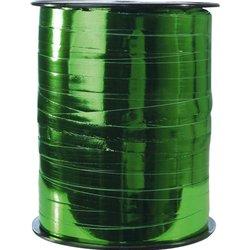 Rouleau 250mx7mm ruban bolduc métal - vert