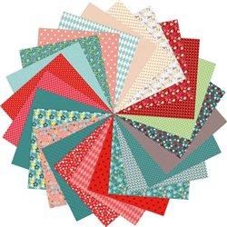 Ensemble de 4 blocs de 96 feuilles à motifs