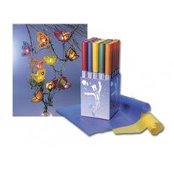 Papier calque translucide de couleur