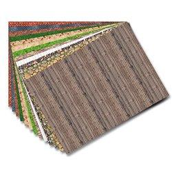 Pochette 13 feuilles papier decor construction 80g 50x70 cm