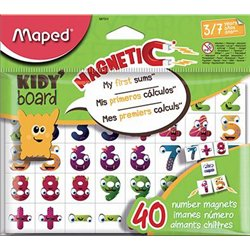 40 magnets chiffres