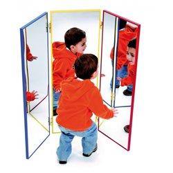 Triptyque miroir 35 x 100 cm