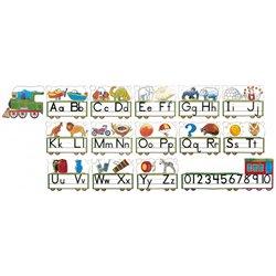Train alphabet géant