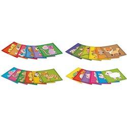 Set 24 cartes mosaïque PlayMais 18x18 cm thème animaux