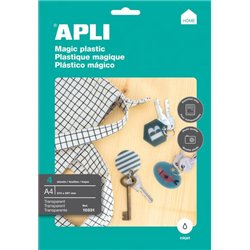 Feuille plastique magique A4 (Pochette de 4)