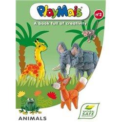 Livre play maïs : animaux