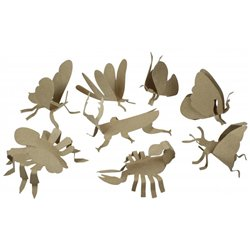 Kit sculptures d'insectes playmais