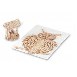 Élément pince à linge en bois 72 mm non montées (Sac d'environ 500)