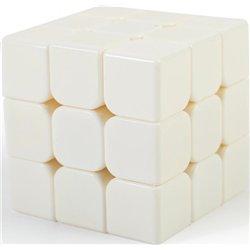 Cube magique à décorer en plastique blanc 5.5 cm