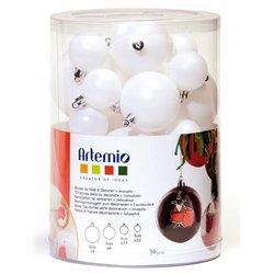 Ensemble de 39 boules à décorer