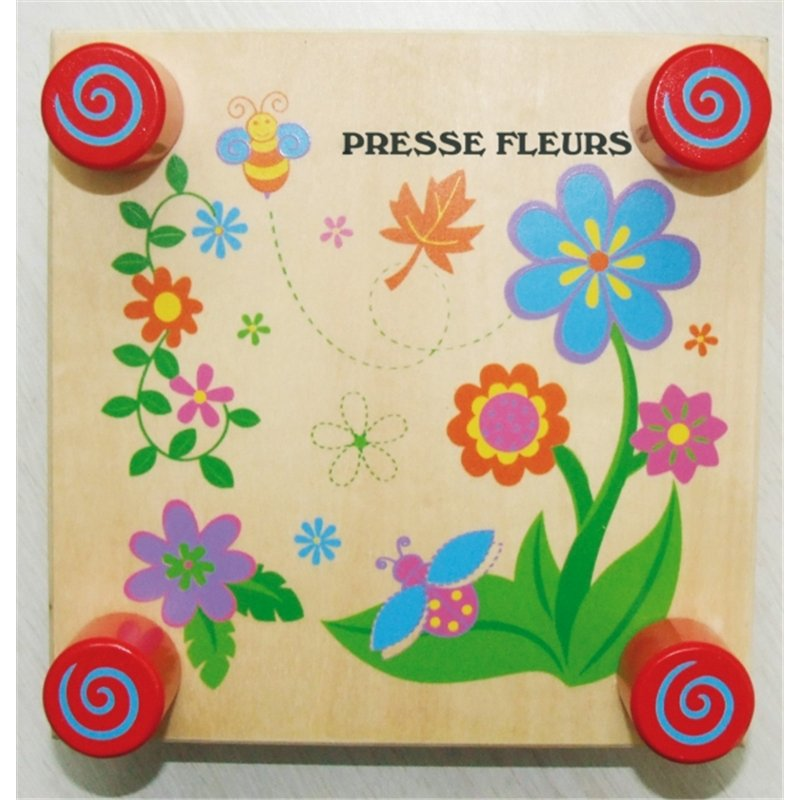 Presse fleurs