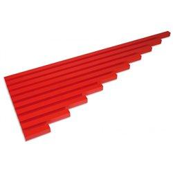Montessori Les barres rouges