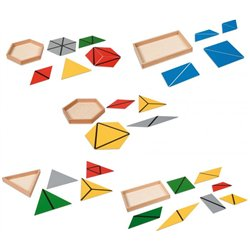 Montessori triangles constructeurs