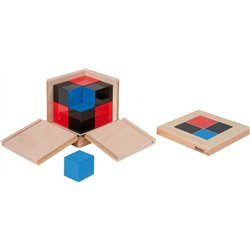Montessori Cube du binôme