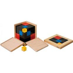Montessori Cube du trinôme