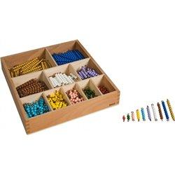 Montessori Coffret perles base 10