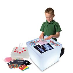 Cube lumineux d'apprentissage