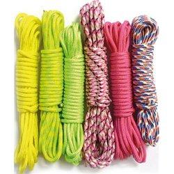 Lot de 6 rouleaux de 3m corde nylon Créacord