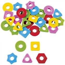 Perles des petits - 5 couleurs