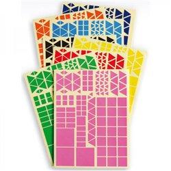 Gommettes géométriques - Lot de 5 pochettes
