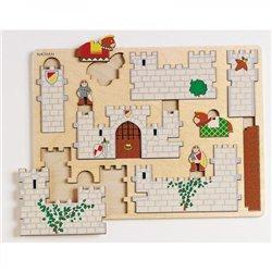 Première maquette - Le château fort