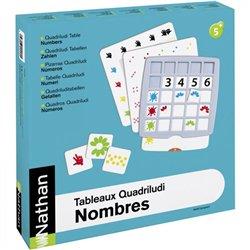 Tableaux Quadriludi Nombres pour 6 enfants