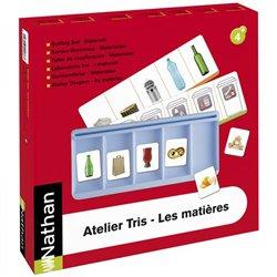 Atelier Tris - Les matières pour 2 enfants