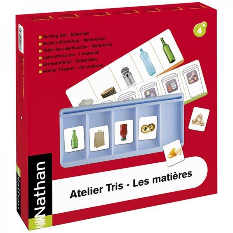 Atelier Tris - Les matières pour 4 enfants
