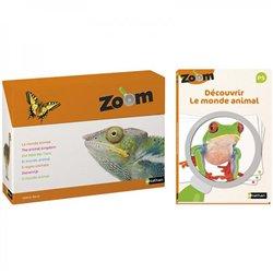 Imagier Zoom - Découvrir le monde animal et Guide pédagogique PS - Offre spéciale