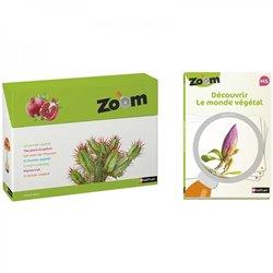 Imagier Zoom - Découvrir le monde végétal et Guide pédagogique MS - Offre spéciale
