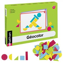 Géocolor pour 4 enfants