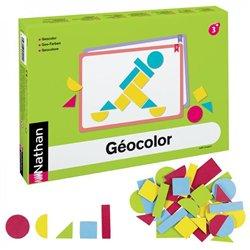 Géocolor pour 8 enfants