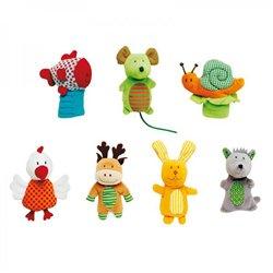 Marionnettes à doigts pour comptines 1