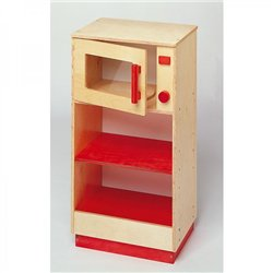 Fourà micro-ondes rouge Modulaire