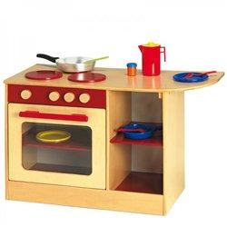 Multi-cuisinière rouge Modulaire