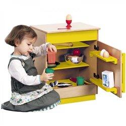 Réfrigérateur jaune Modulaire