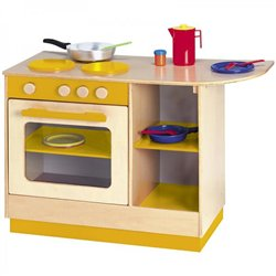 Multi-cuisinière orange Modulaire