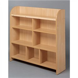 Maxi-meuble à étagères hêtre MobiNathan