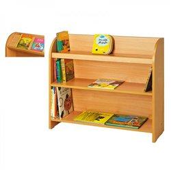 Petit meuble à étagères hêtre MobiNathan