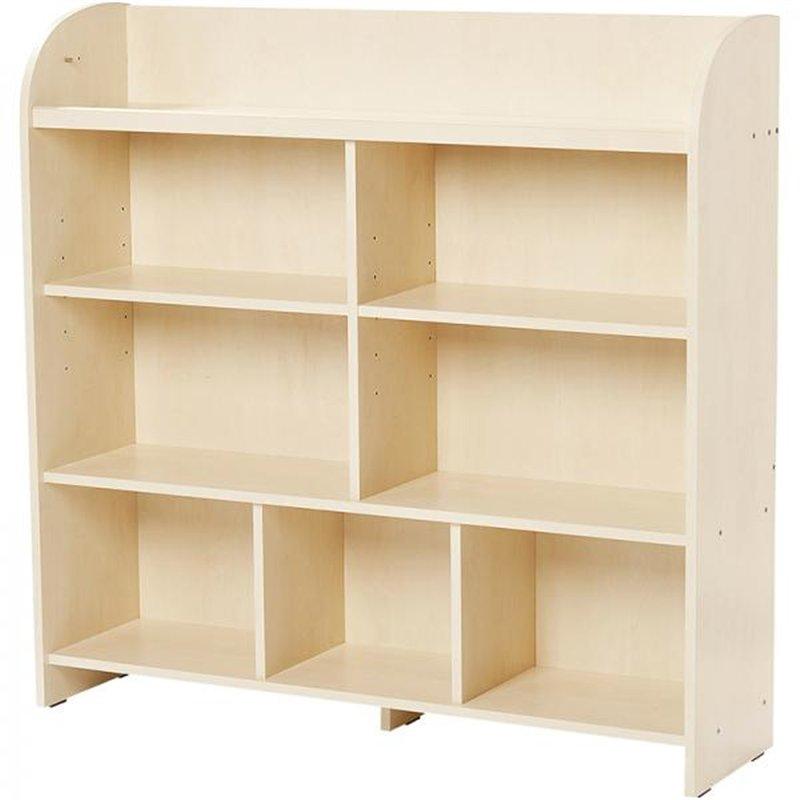 Maxi-meuble à étagères bouleau MobiNathan