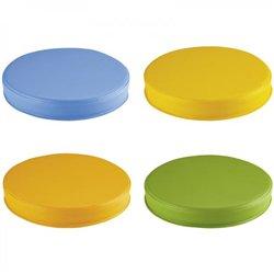 Galettes multicolores - Lot de 8
